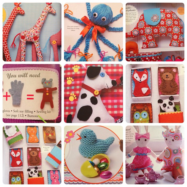 Crafty Creatures by Jane Bull - book review on Crafts from the Cwtch blog