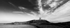 Dunstanburgh Castle Irradiating Sky