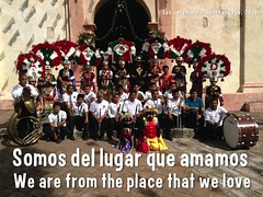 We are from the place that we love = Somos del lugar que amamos (Gracias @BnZunni )