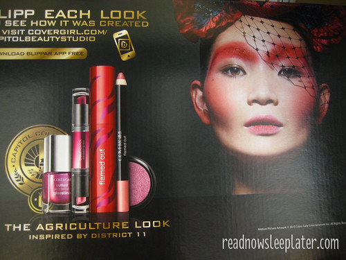 Cover Girl Catching Fire Collection