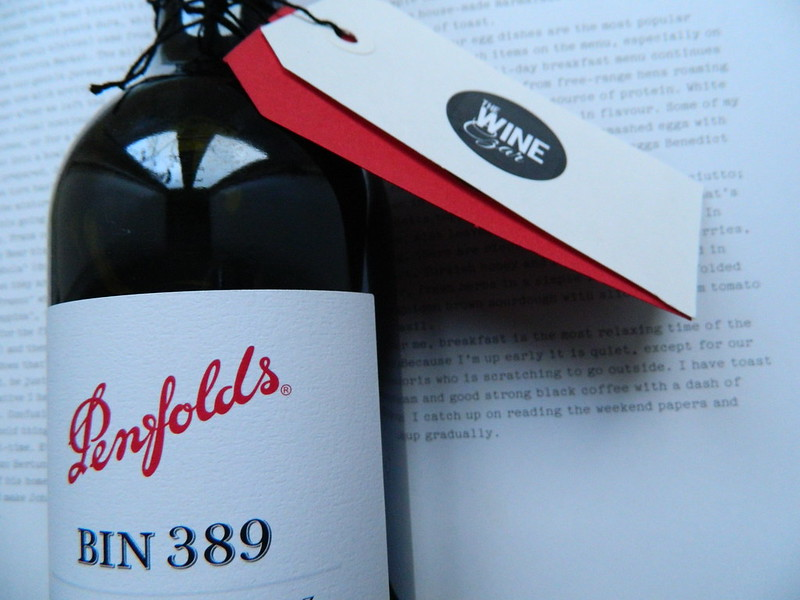 Penfolds 'Bin 389' Shiraz + Cabernet 2010 (Baby Grange)