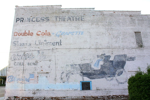 Faded Ad Mural - Lexington, TN