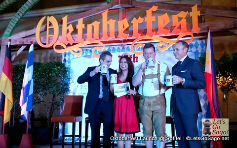 Oktoberfest 2013 Launch for special guests and the media were held a few weeks ago @ Sofitel Manila and led by the German Club Manila