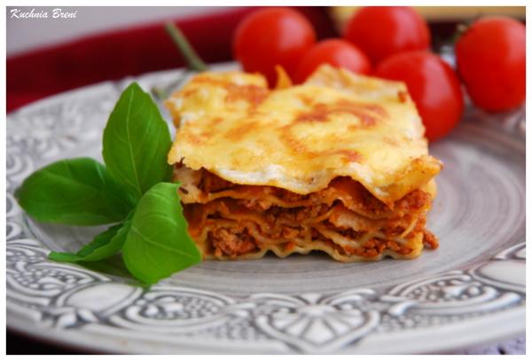 Lasagne pod beszamelem