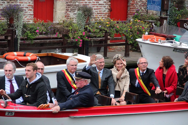 Royalty in Bruges