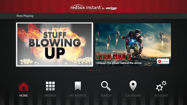 Redbox Instant on PS3