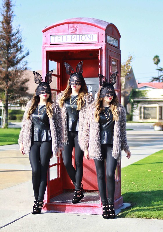lucky magazine contributor,fashion blogger,lovefashionlivelife,joann doan,style blogger,stylist,what i wore,my style,fashion diaries,halloween,costume,diy,lace bunny ears,halloween costume,lush clothing,charlotte russe,fashionbyhefall,fashionbyhe