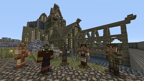Minecraft Skyrim Edition