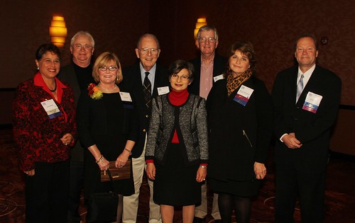 Milwaukee Press Club's Past Presidents at our Media Hall of Fame Dinner on Fri., Oct. 25, 2013.