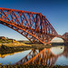 Forth Bridge Reflection from North Queensferry by Grant_R