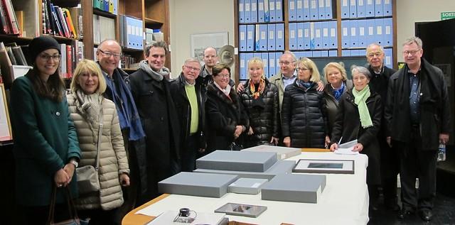 Visite du Museum Folkwang, Esssen, avec Florian Ebner, ce vendredi 15 novembre 2013, SFP, Paris.