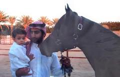 Baby Ahmed and Omar bin Laden