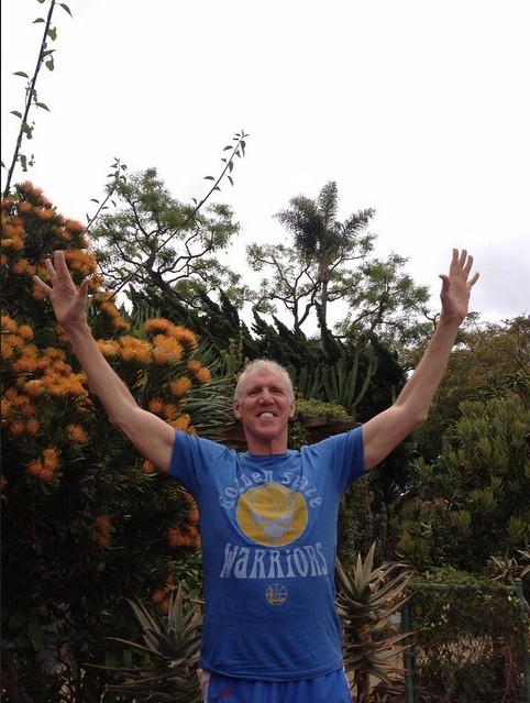 Bill Walton Golden State Warriors Grateful Dead T-Shirt