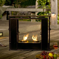 Holly and Martin™ Walton Portable Indoor Outdoor Gel Fireplace