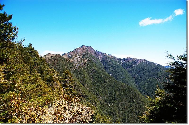 丹大山(From 內嶺爾山北稜)