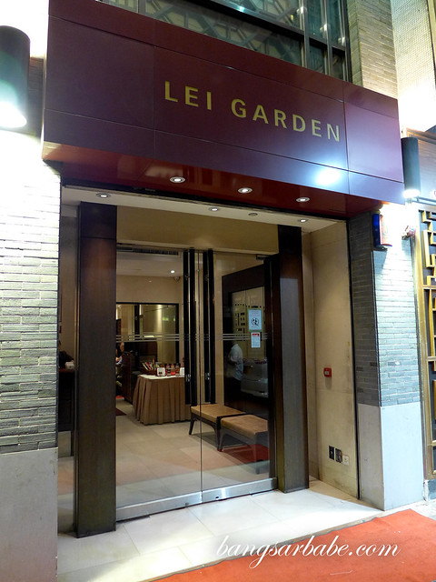 Lei Garden Hong Kong Bangsar Babe