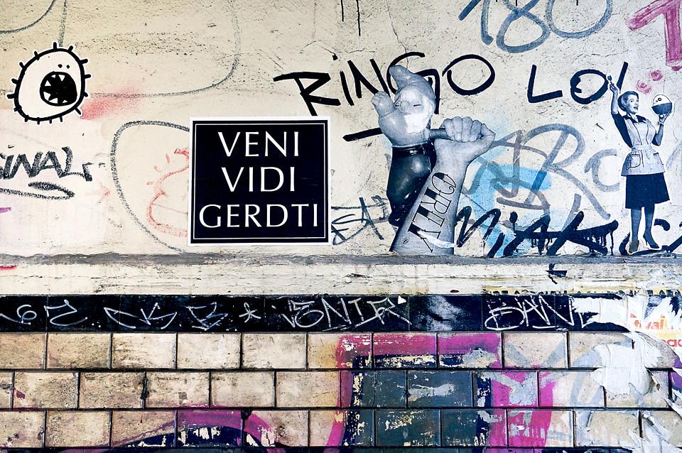 Street Art Gerdt Kartoffeltierchen