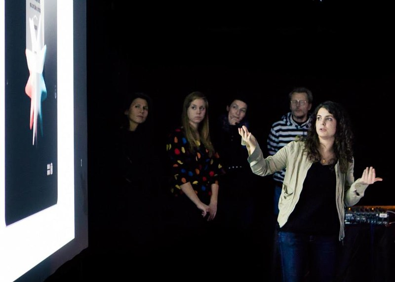 Teaching Emotional Window workshop @ Kino Šiška Centre for Urban CulturePhoto by Andrej Lamut
