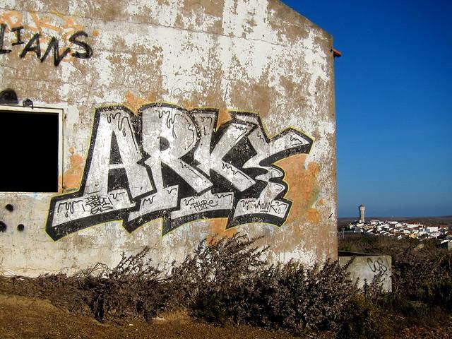 graffiti | arky | vila do bispo . algarve . portugal 2013