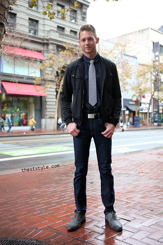 man morsel monday, denim on denim, san francisco streetstyle fashion blog, STREETFASHIONSTYLE, TheSFStyle,