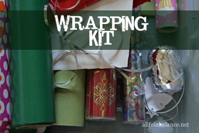 Wrapping Kit for Gifts