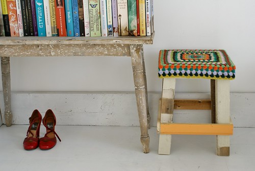 wood & wool stool cover american craft lookbook