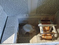 Book Sculptures for QuestiON Quest, Andrew Carnegie Day in Fife...