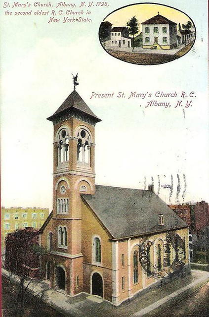 st mary's church  early 1900s  albany ny