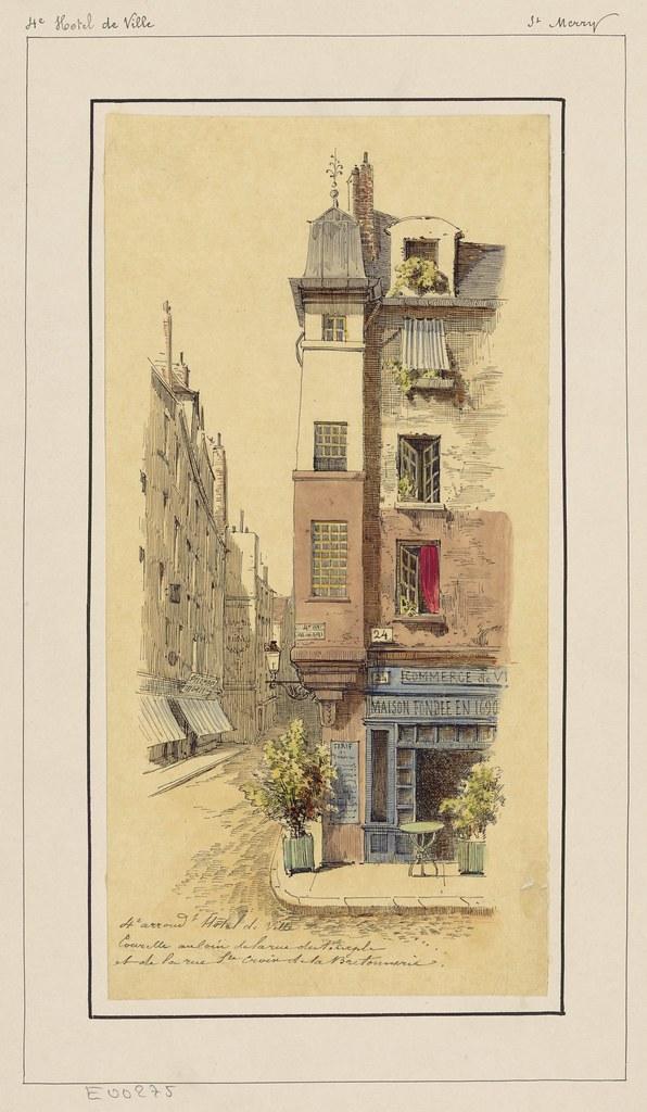 Bibliodyssey drawn to paris - 39 rue sainte croix de la bretonnerie ...