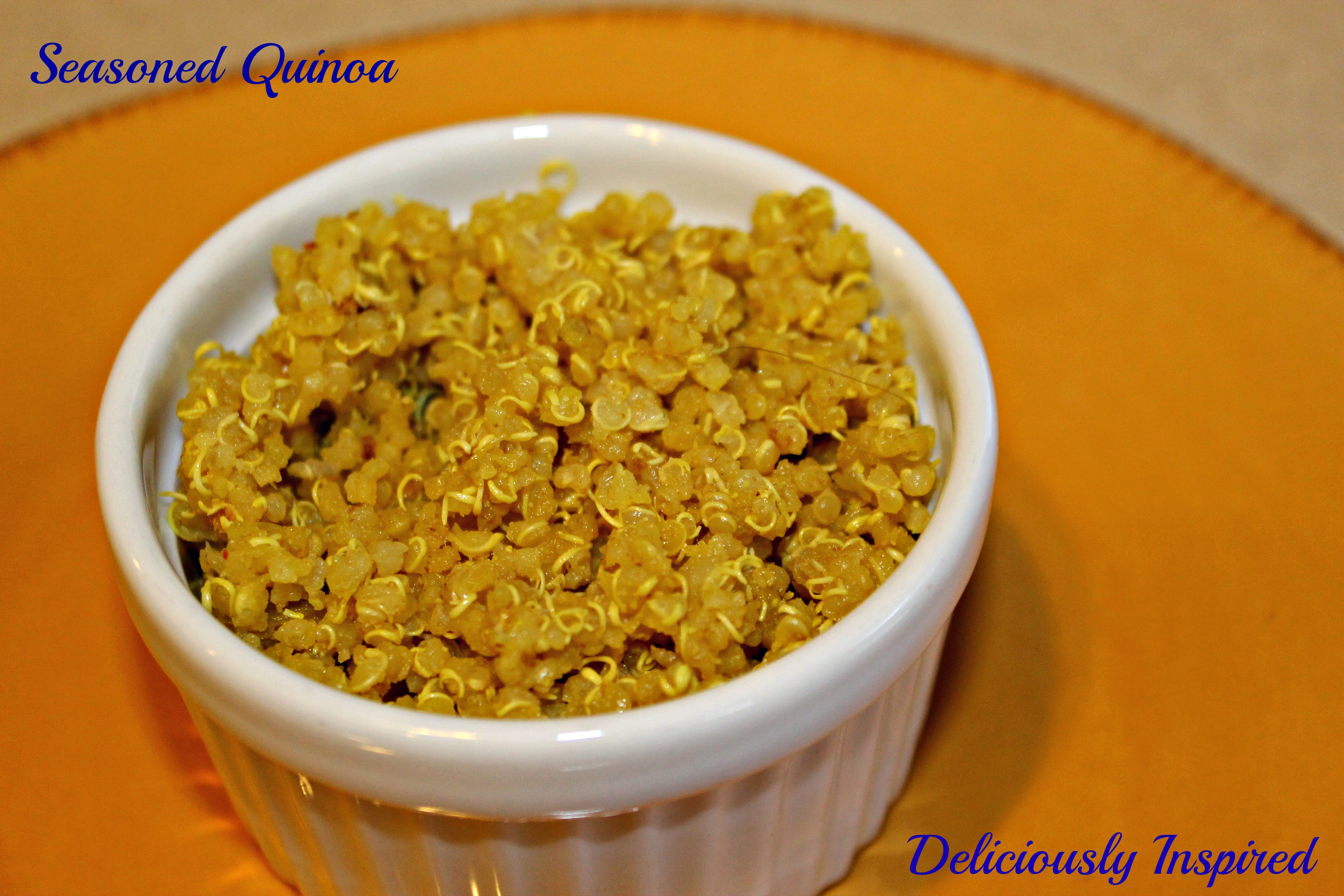 Seasoned Quinoa