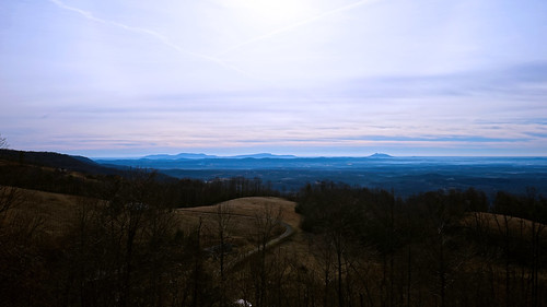 morning sunrise landscape virginia panoramic va fancygap