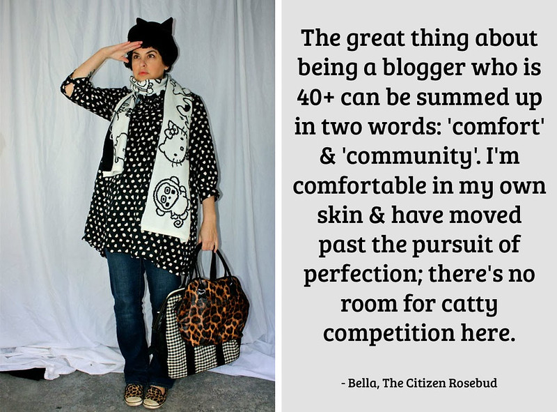Bella, The Citizen Rosebud on being a 40+ fashion blogger