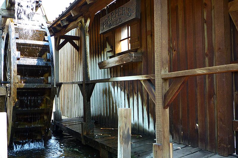Harper's Water Mill, Ashcroft Heritage Park, Ashcroft, Thompson Okanagan, British Columbia