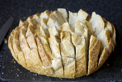cut your loaf like this