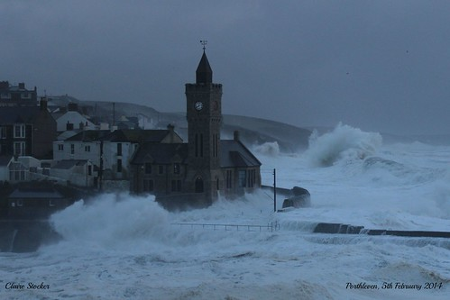 Porthleven; 5th February 2014 storms by www.stockerimages.blogspot.co.uk