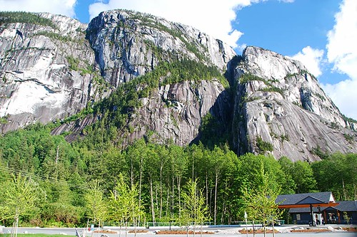 Stawamus Chief in Stawamus Chief Provincial Park, Squamish, Sea to Sky, British Columbia, Canada
