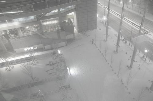 snowstorm at Yurakucho 01