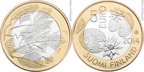 2014 Finland 5 Euros