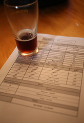 Canberra Brewers Inc. posted a photo:	Recipe and the beer
