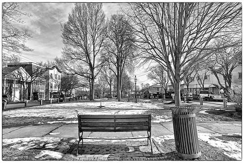 Central Square, Bridgewater. MA