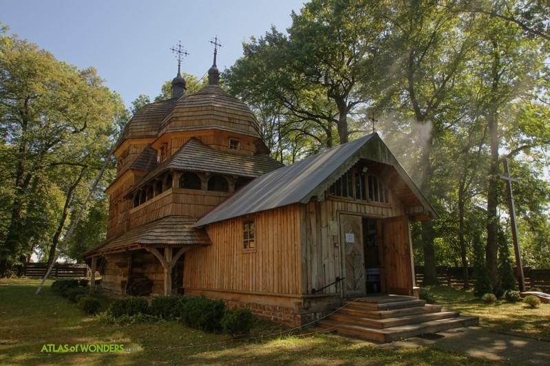 Wooden Tserkvas Poland