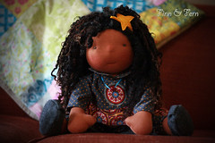 Camille - a 17 Inch Finn and Fern Doll