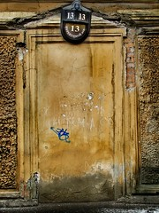 St. Petersburg. The door to the house № 13)
