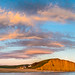 East Cliff Glows under Evening Skies by DorsetScouser