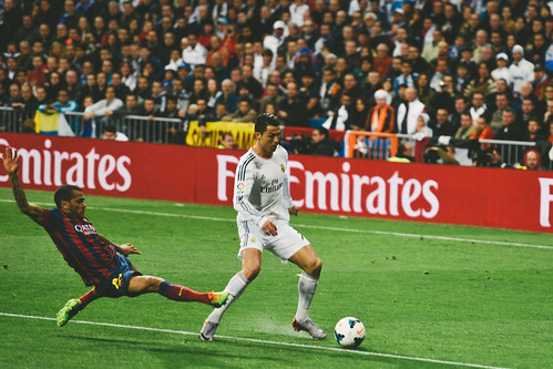 Dani Alves & Cristiano Ronaldo