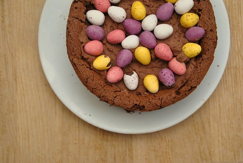 Easter Egg Nest Cake from Feast by Nigella