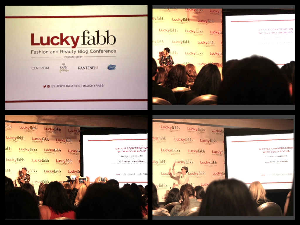 lucky fabb coco rocha lucky magazine nicole richie Sophia Amoruso nasty gal #girlboss model fashion and beauty blogger conference eva chen sls beverly hills hotel a style conversation seeking style