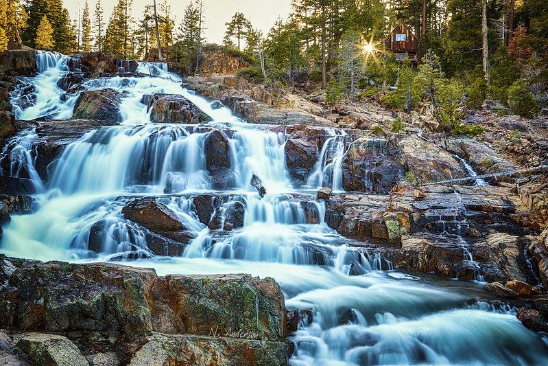 Glen Alpine Falls - South Lake Tahoe