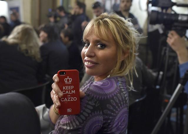 ROMA ARCHEOLOGIA e BENI CULTURALI: Alessandra Mussolini e il telefonino: la cover è provocatoria, LA REPUBBLICA (17|04|2014).