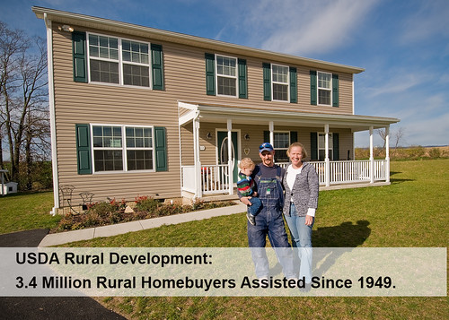 With usda housing programs 3 4 million rural homebuyers for Rural development house plans